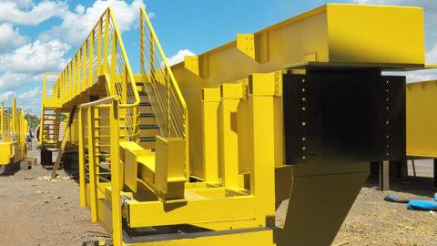 Fabricação de Ponte Rolante