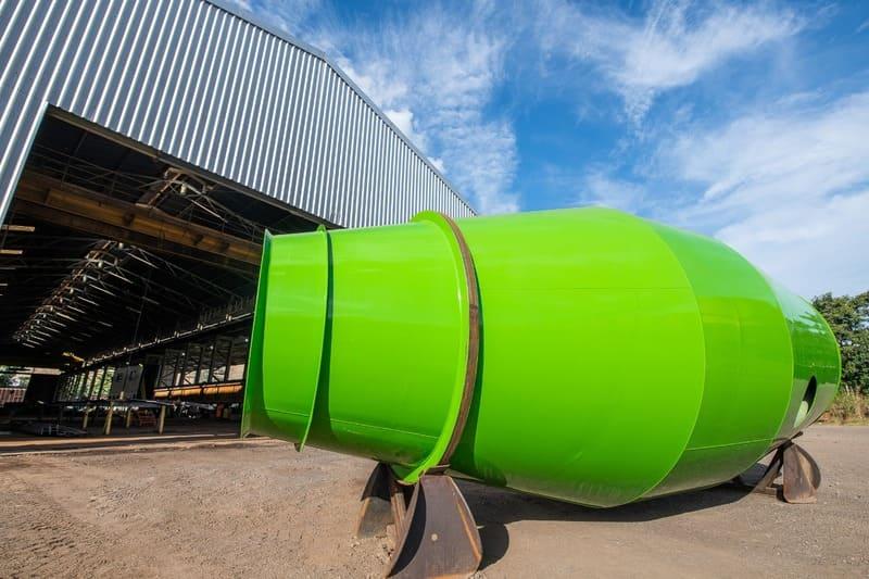 Balão betoneira
