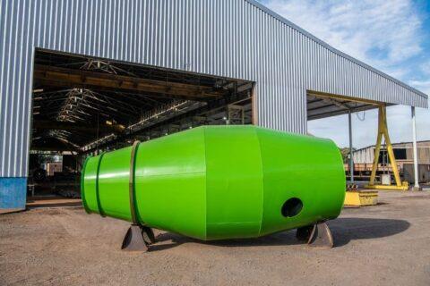Balão para caminhão betoneira